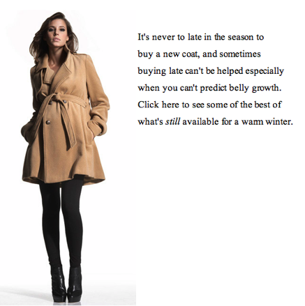 HM SF winter coats