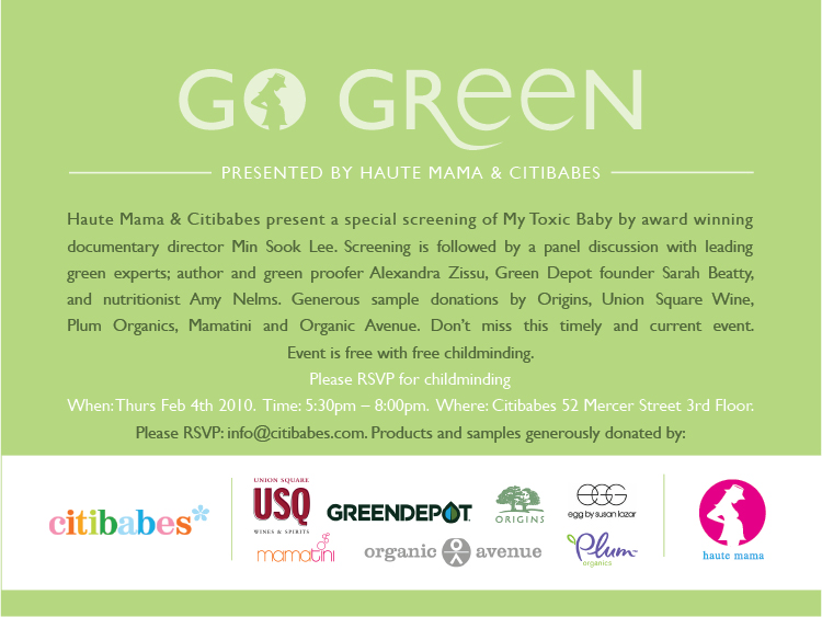 GO GREEN invite2