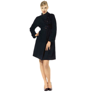 Black wool coat by Esme