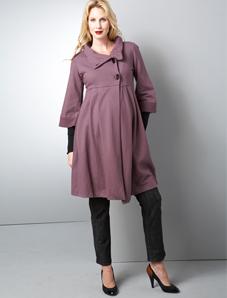 Swing maternity coat by Woo